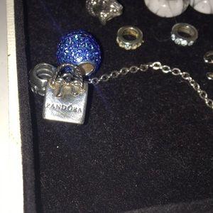 Pandora Sterling Silver Shopping Bag Charm